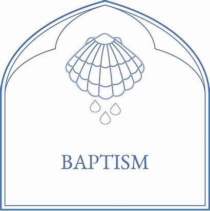 Baptism Icon Sacraments Christian
