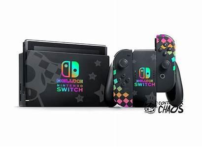 Switch Nintendo Mario Deluxe Cart Custom Console