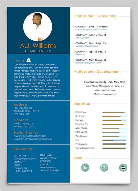 indesign resume template ideas resume template indesign