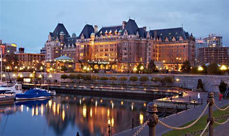 empress fairmont victoria canada hotel columbia british exterior hotels canadian gall