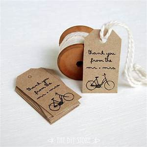 Gift tag template small vintage bicycle gift tags favor for Small tags for wedding favors