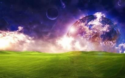 Landscape Desktop Background Wallpapers Fantasy Dreamy Wian