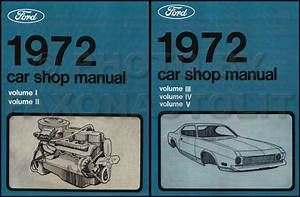 1972 Ford Torino Ranchero Montego Wiring Diagram Original