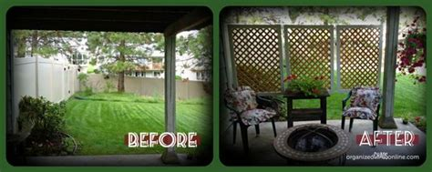 hometalk     easy patio privacy screen step