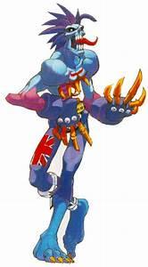 Character Design Creator Zabel Lord Raptor Darkstalkers