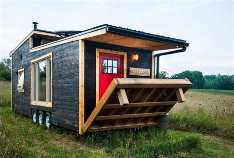 Tiny Häuser Deutschland by Tiny House Ein Winziges Wohlf 252 Hlhaus Auf R 228 Dern H 252 Tten