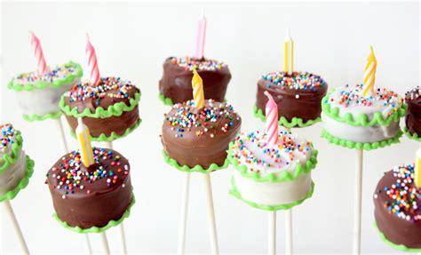 brownie cake pops recipes n such birthday cake brownie pops
