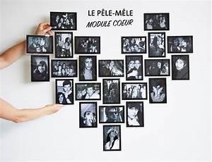 Cadre Pêle Mêle : cadre photo coeur 24 photos ~ Teatrodelosmanantiales.com Idées de Décoration