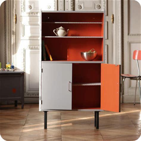 bureau peu profond meubles vintage gt rangements gt etagère bibliothèque grise