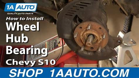 install replace wheel hub bearing chevy gmc
