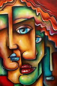 ' Mixed Emotions ' Painting by Michael Lang