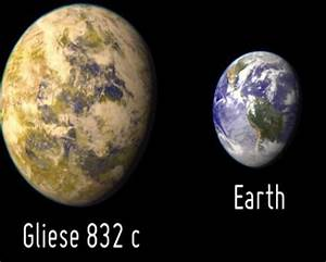 Gliese 832c - Pics about space