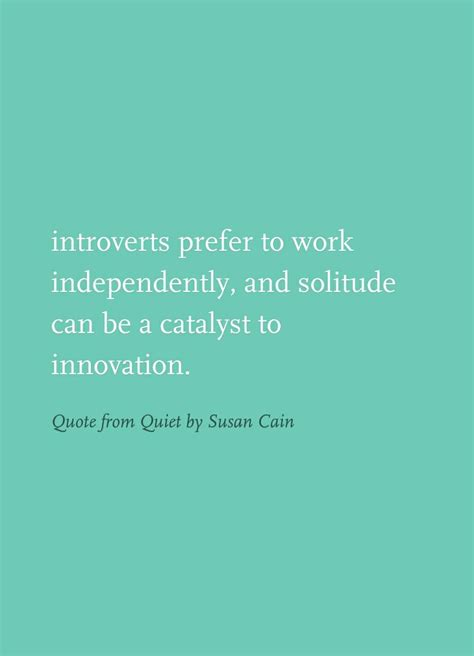Quiet By Susan Cain Quotes