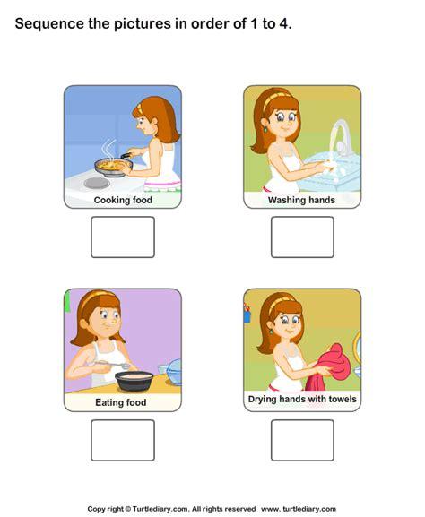 personal hygiene worksheets  kids worksheet turtle diary