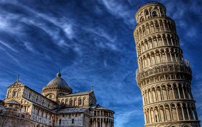 Pisa Tower Italy Wallpapers Leaning Stunning Backgrounds