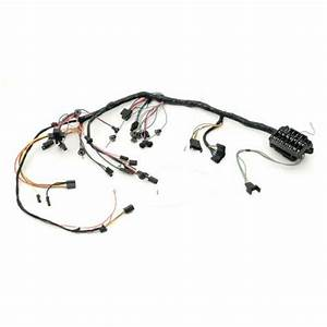 Chevelle Dash Wiring Harness  Main  For Cars With Warning