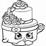 Cake Coloring Birthday Worksheet Shopkins Searches Recent sketch template