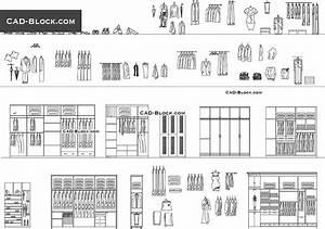 Wardrobe CAD Block, File Download
