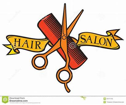 Salon Hair Clipart Hairdresser Clip Stylist Haircut