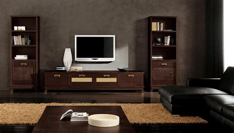 modern ethnic living room  small tv stand