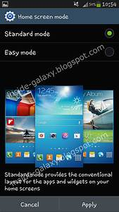 Samsung Galaxy S4: How to Change Home Screen Mode