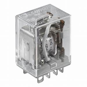 12vdc 10a Dpdt Relay Switch