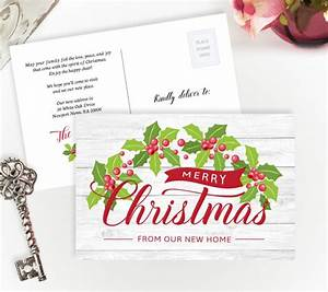 christmas moving announcements personalized moving cards With holiday moving announcements change of address cards