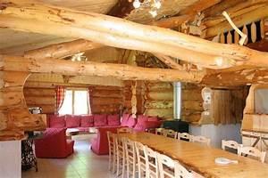 Fabricant de fustes chalets en rondin maison en bois for Prix maison en rondin 0 maison en bois top maison