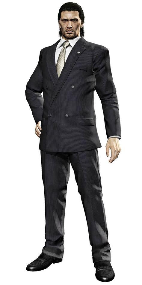 daigo dojima characters art yakuza  shadowrun