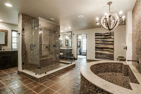 large luxury master bathrooms  cost  fortune