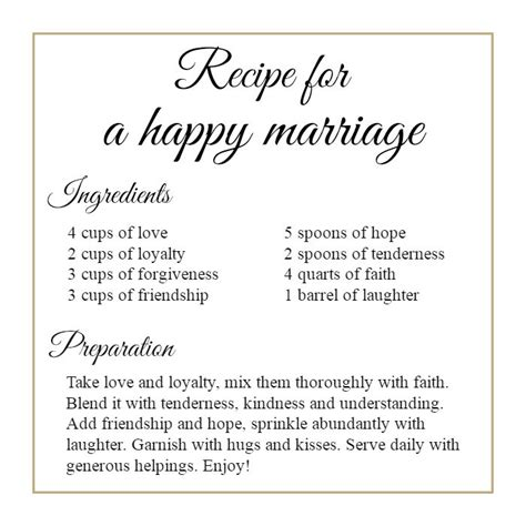images  marriage recipe  pinterest home