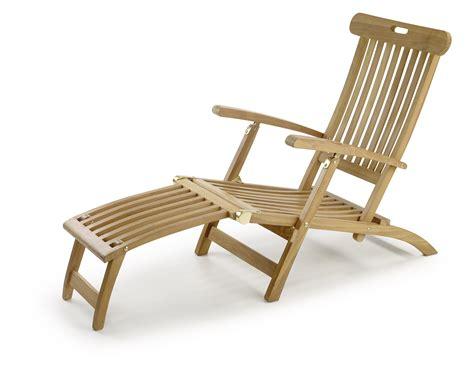 chaise en teck chaise longue de jardin en teck massif collection rinca