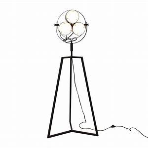 elements second hand on a budget With cb2 signal floor lamp