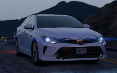 Toyota Camry Modification by Toyota Camry 2016 Add On Replace Gta5 Mods