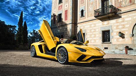 Lamborghini Aventador Lamborghini Yellow Car Sport Car