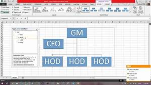 How To Create Flow Chart In Excel 2013 Using Smartart Function