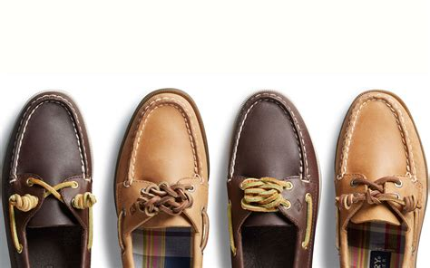 Boat Shoes Tie by How To Tie Boat Shoes The Official Sperry Lacing Guide