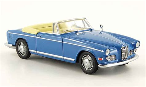 Bmw 503 Cabriolet Blue Eagle Diecast Model Car 1/43