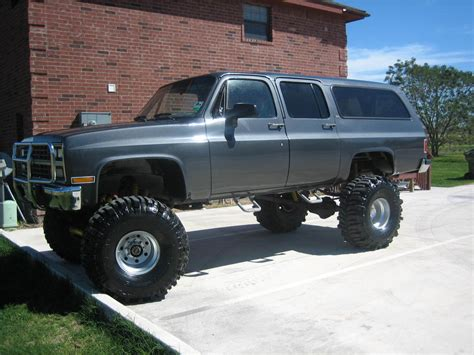 lifted suburban   1991 Lifted Suburban for Sale http://www