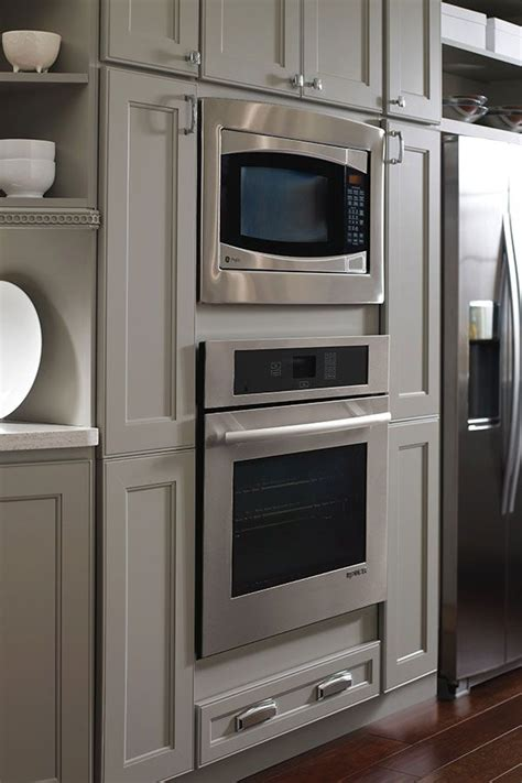 oven  microwave cabinet homecrest cabinetry kitchen