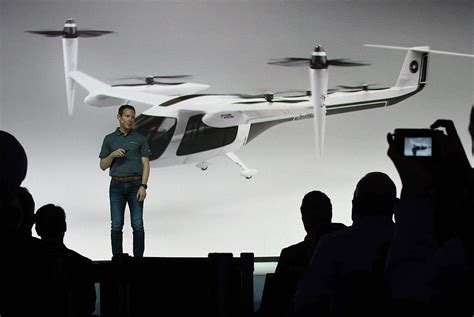 Uber Self-flying Taxi Unveiled At Elevate Summit In Los