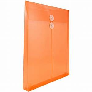 jam paper plastic envelopes with 2 dividers button With poly string envelopes letter size