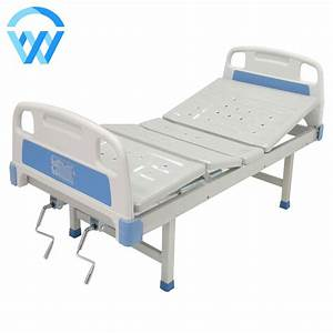 Hot Sale Abs Double Shake Nursing Manual Hospital Bed