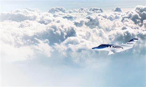 hondajet hondas  light business jet moving closer