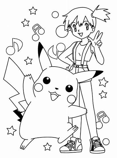 Pokemon Coloring Pages Printables Pikachu