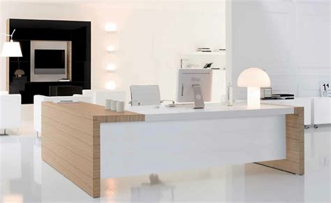 White Office Furniture by Cubicle Modern Office Furniture Decoration With