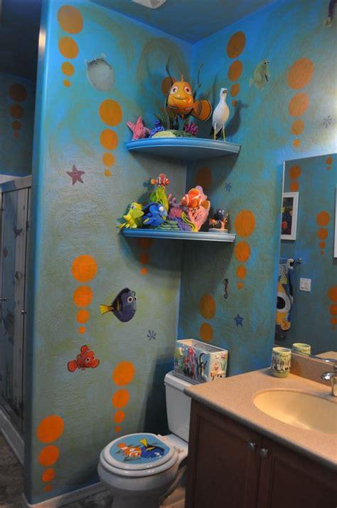 Disney Bathroom Ideas by Bathroom Disney Finding Nemo Bathroom Decorating