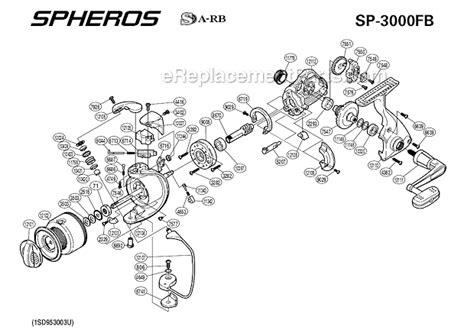 shimano sp fb parts list  diagram