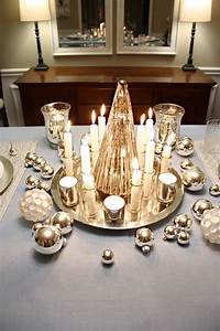 27, White, Christmas, Table, Decorations, Ideas