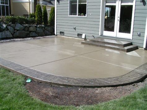 installing a patio minimalist cement patio designs what designs do you recommend for